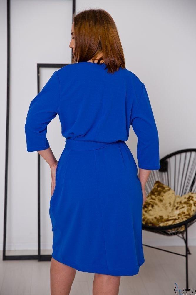 Chabrowa Sukienka MAVITA Plus Size