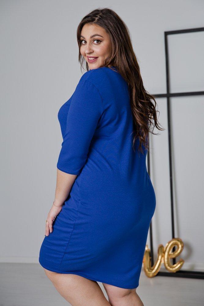 Chabrowa Sukienka MISTRA Plus Size
