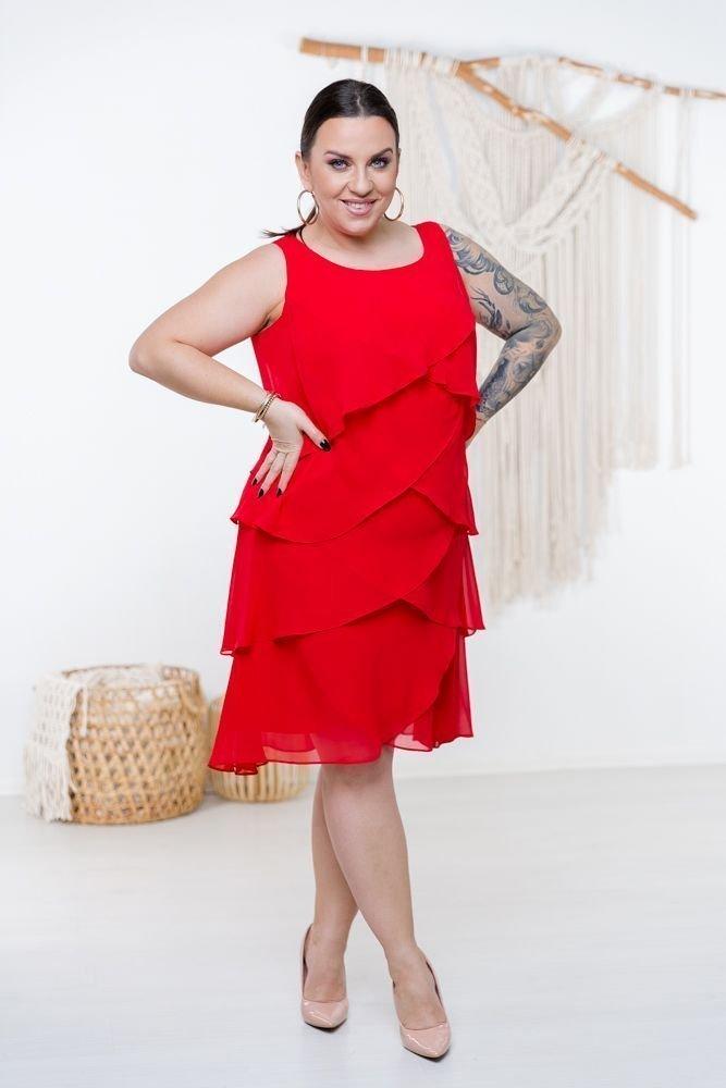 Czerwona Sukienka SUZIE