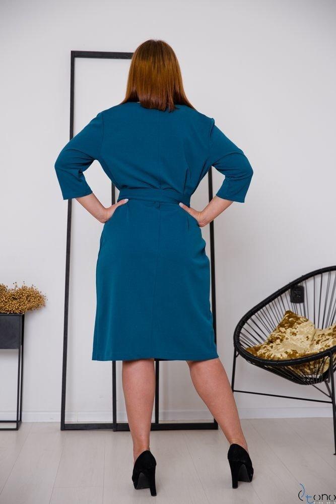 Morska Sukienka MAVITA Plus Size