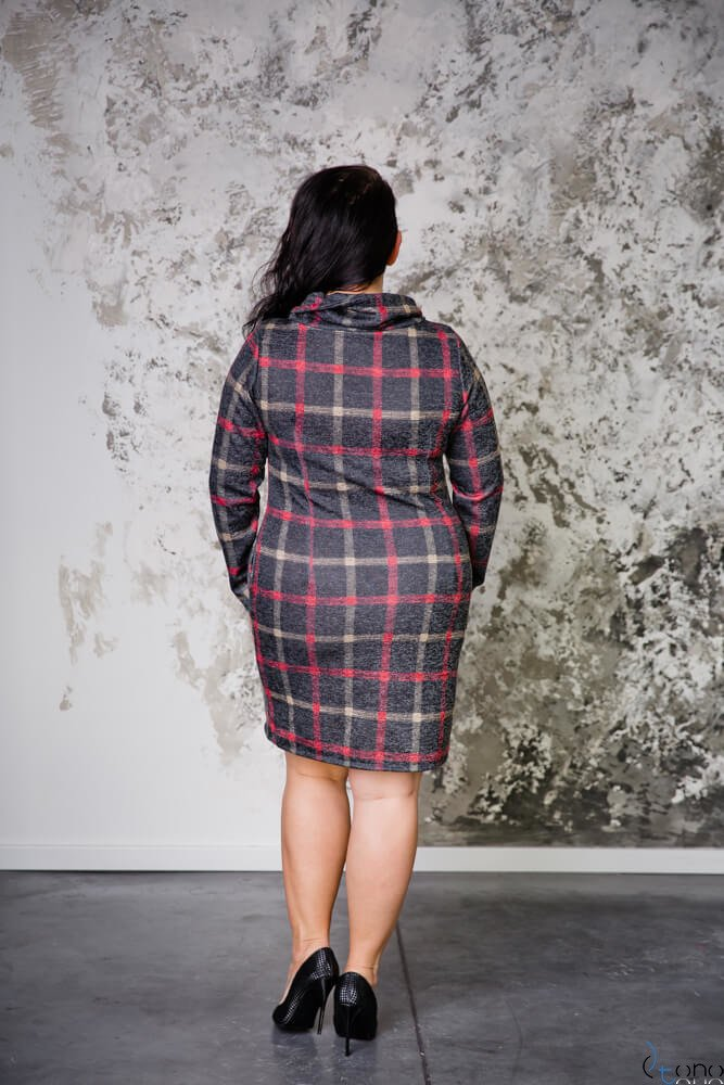 Sukienka GRIDA Plus Size Wzór 3