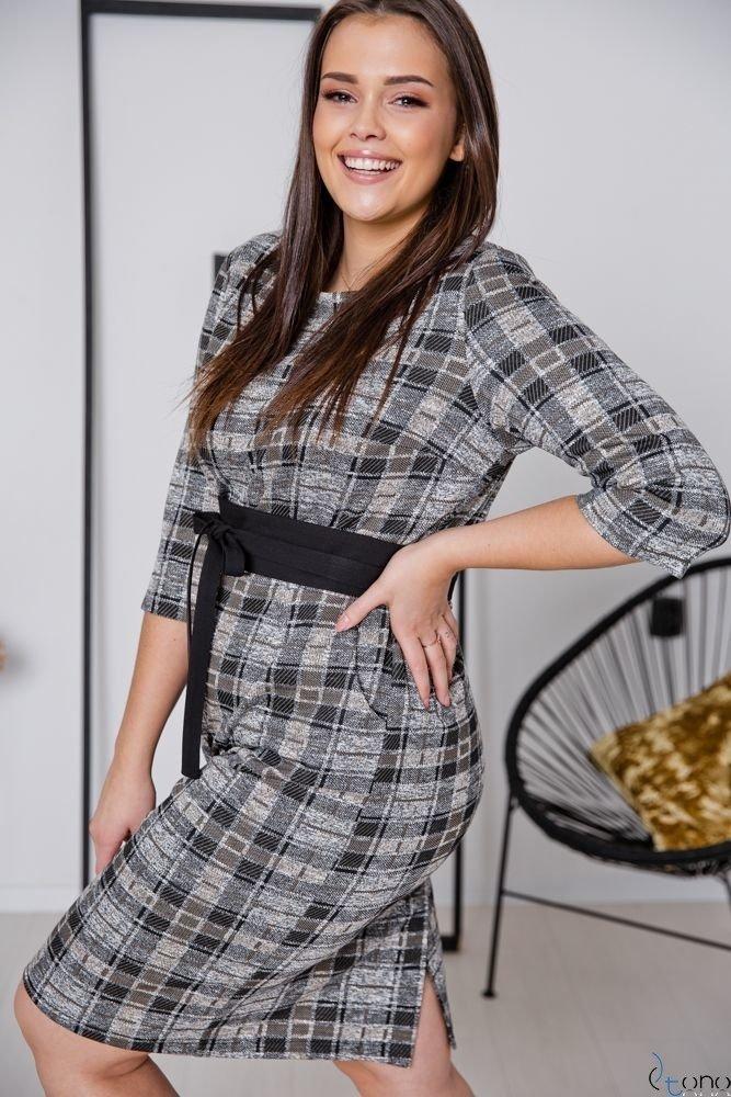 Sukienka LARIZ Plus Size Wzór 4
