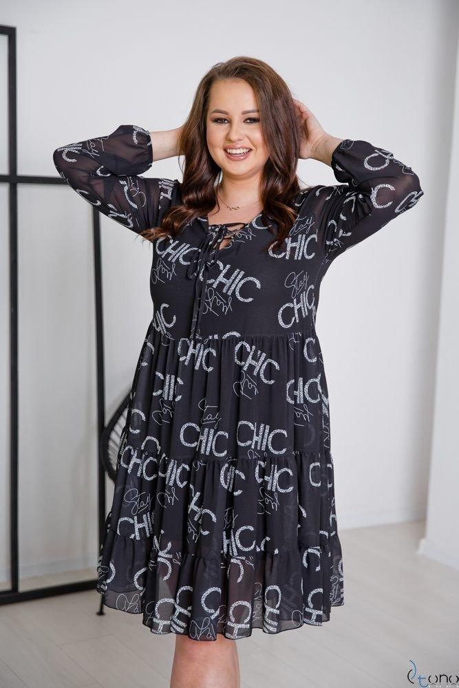 Sukienka STESSA Plus Size Wzór 9