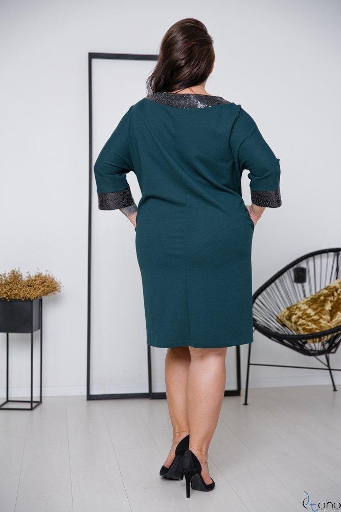 Zielona Sukienka BALERIA Plus Size