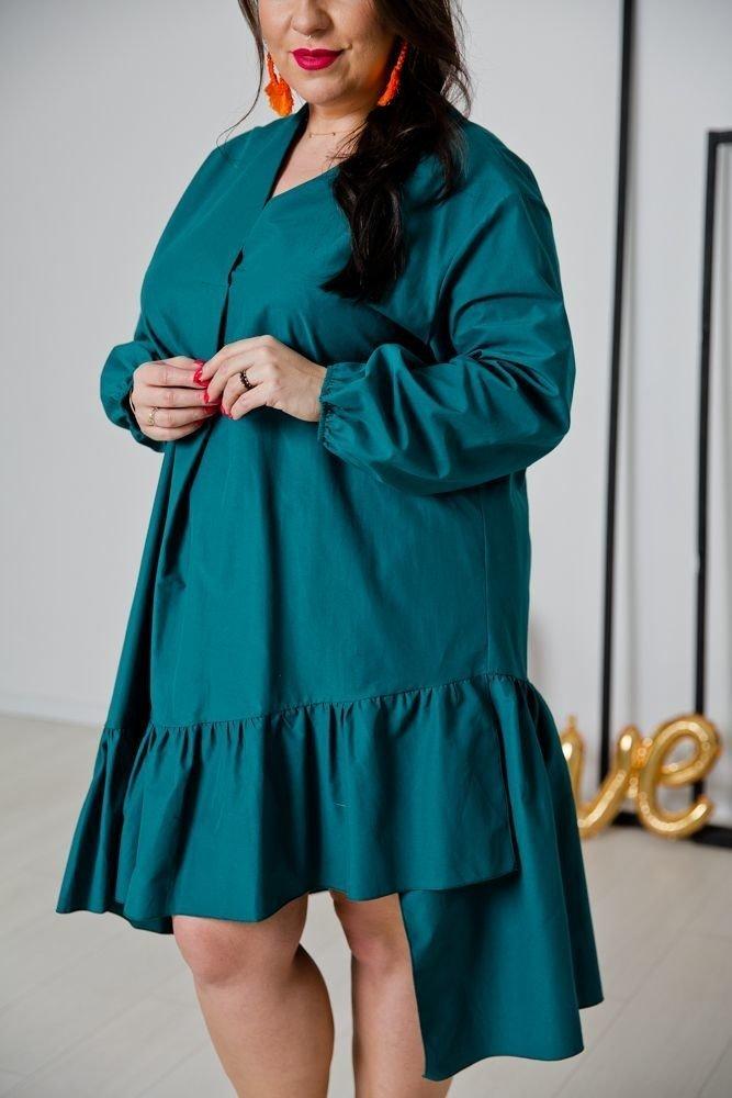 Zielona Sukienka METTIA Plus Size