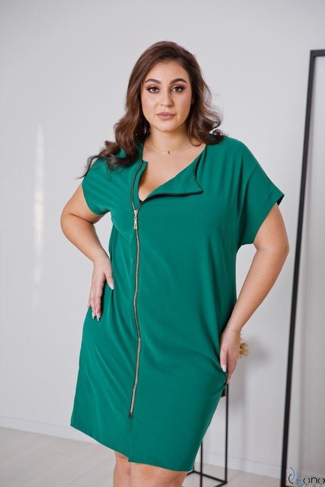 Zielona Sukienka TURRER Plus Size