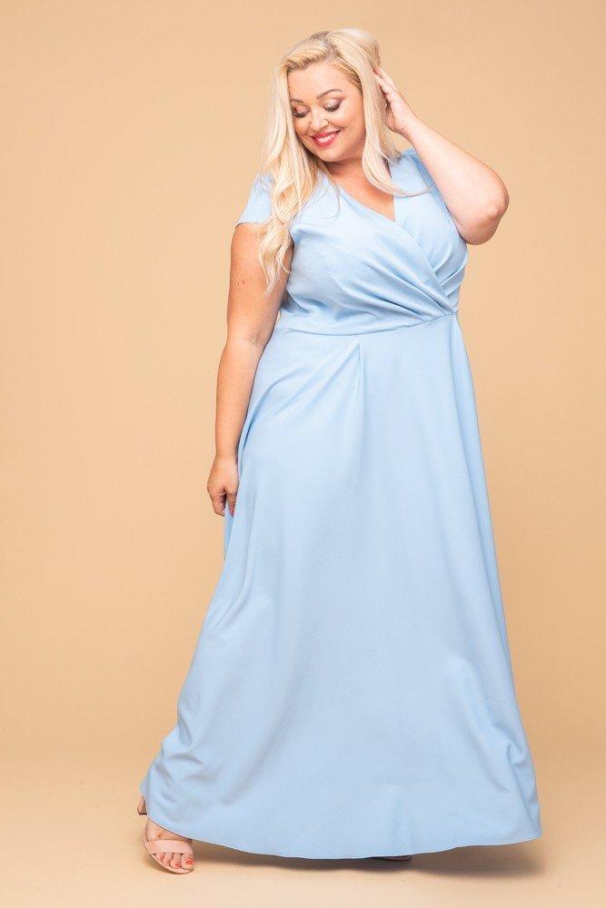 Błękitna Sukienka LOREDANA