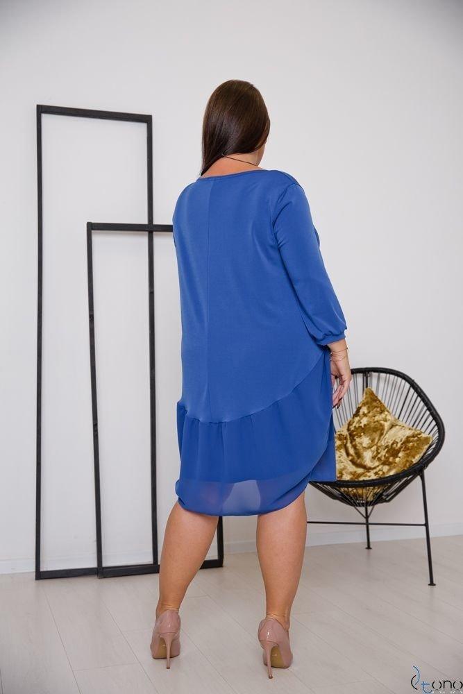 Chabrowa Sukienka APPRI Plus Size