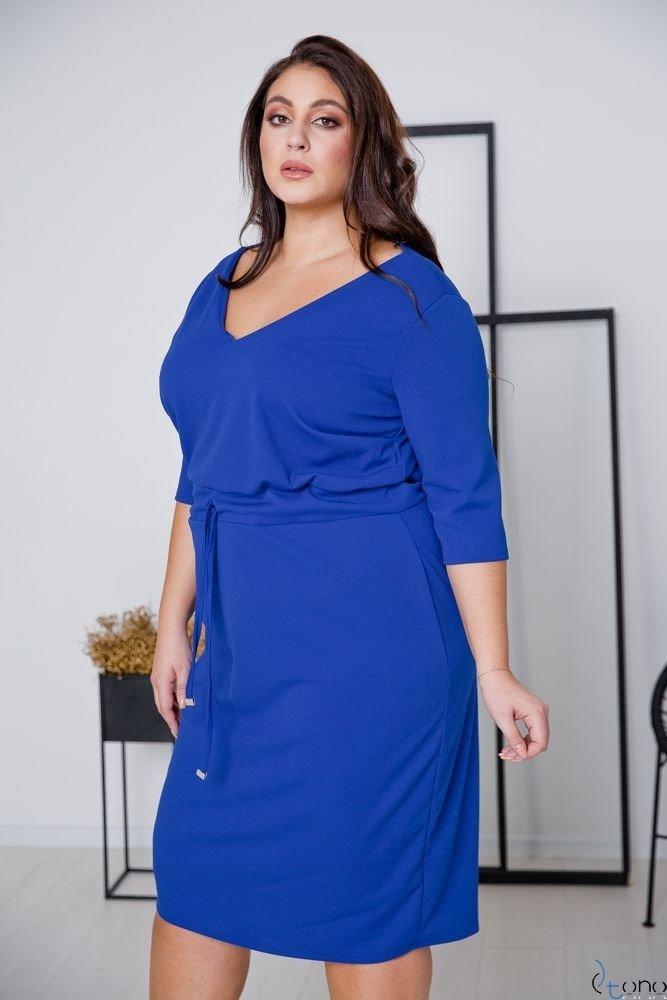 Chabrowa Sukienka ELMIRA Plus Size