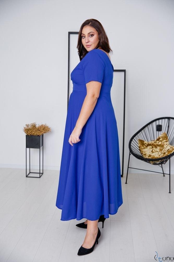 Chabrowa Sukienka MIRIAM Plus Size