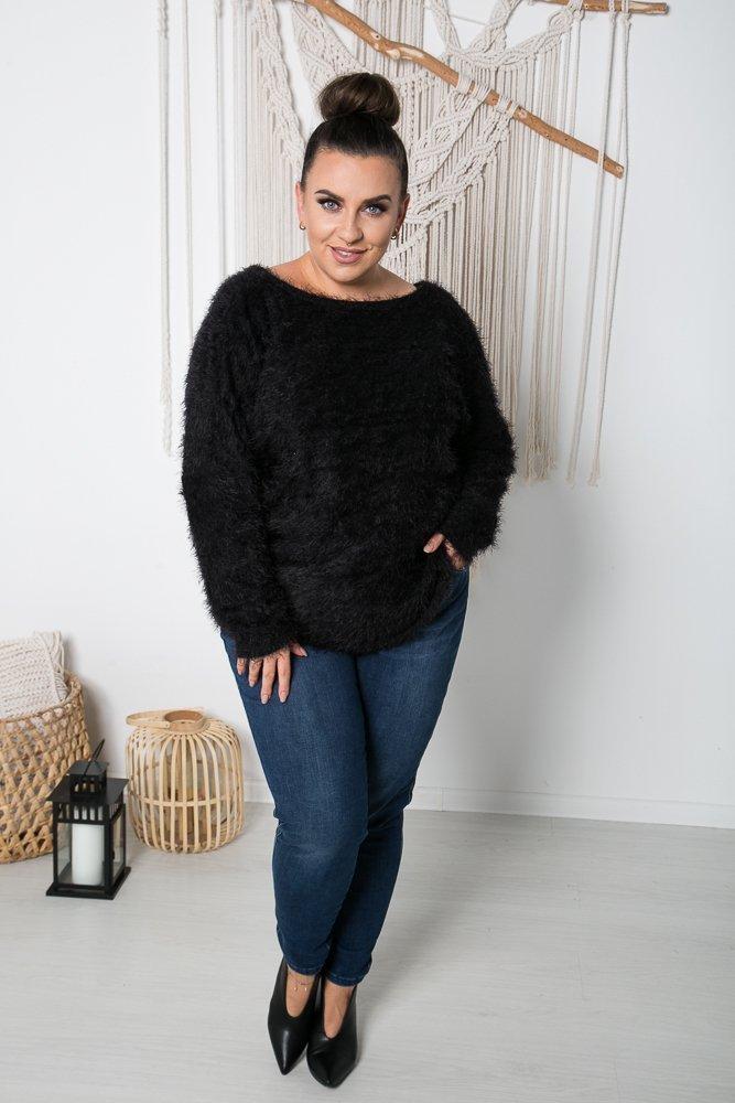 Czarny Sweter FABIOLA Plus Size