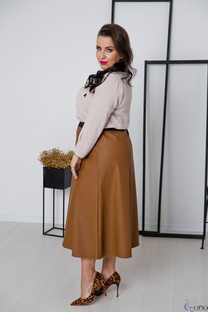Spódnica CANTIA Plus Size Wzór 4