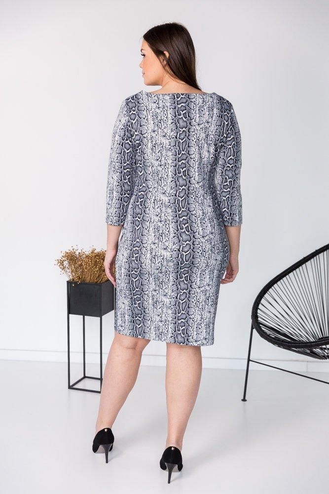 Sukienka BRECIA  Plus Size Wzór 1