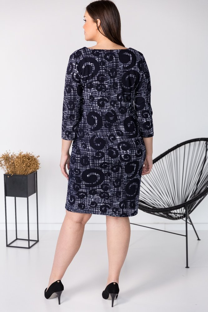 Sukienka BRECIA Plus Size Wzór 7