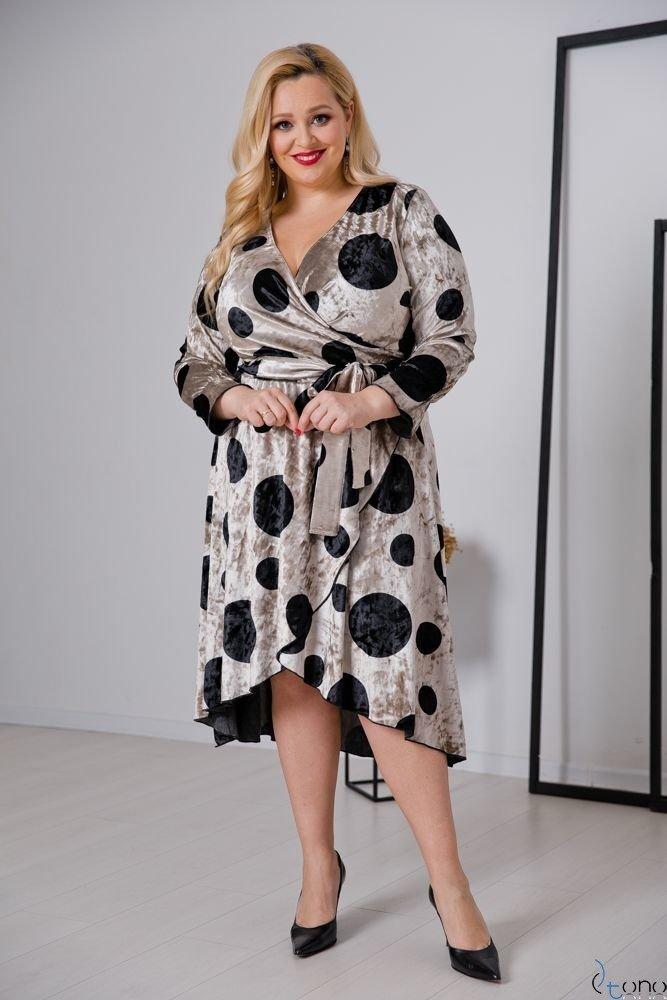 Sukienka RETTA Plus Size Wzór 4