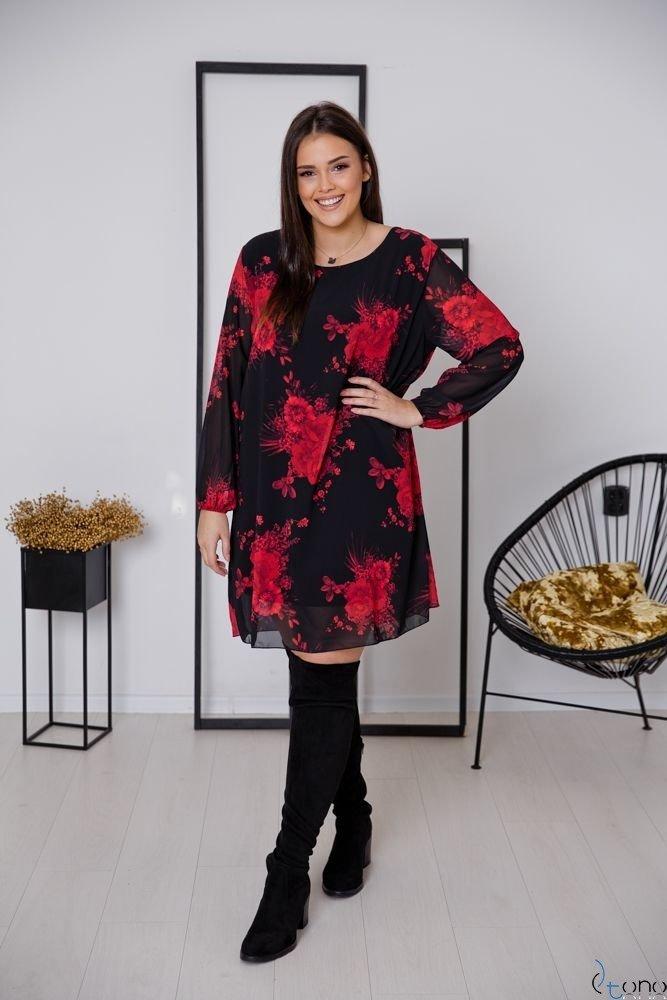 Sukienka SELLINA Plus Size Wzór 1