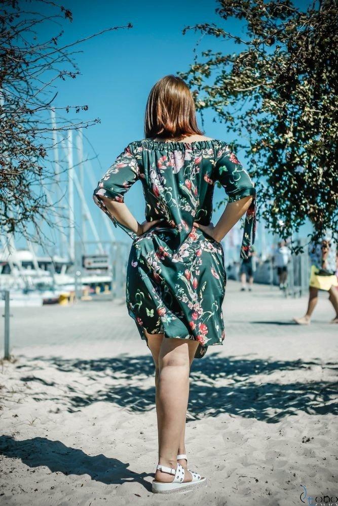 Sukienka VALENCIA Hiszpanka Plus Size Wzór 8