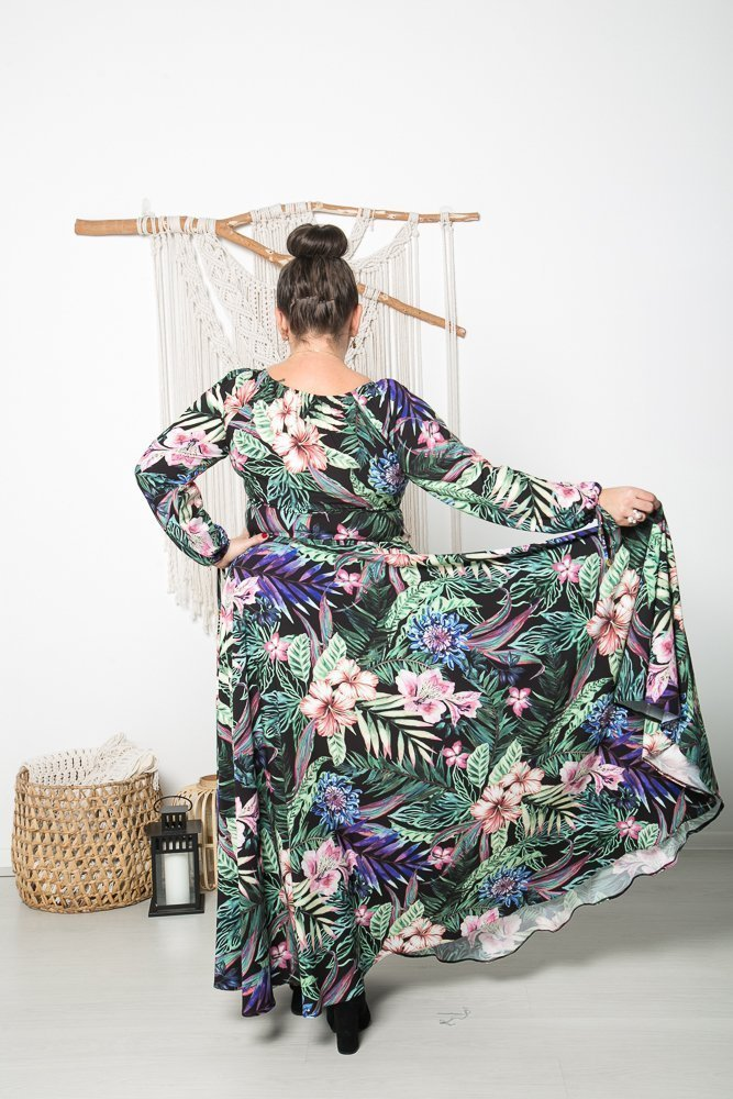 Sukienka VERNISE Plus Size Wzór 8